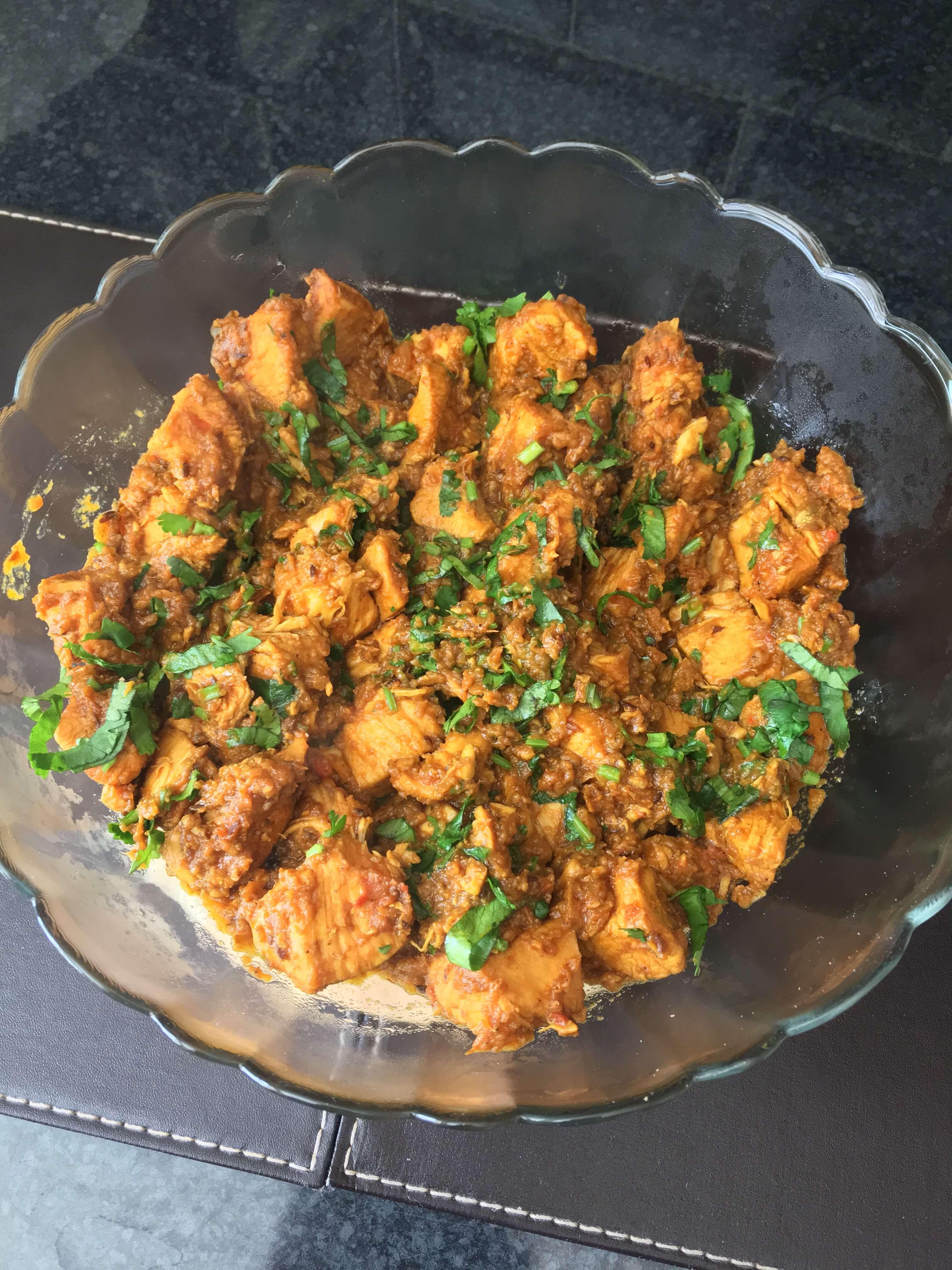 Serving Suggestion - Chicken with Coriander